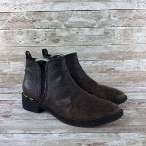 Tory Burch Griffith Chelsea Boot Coconut Leather